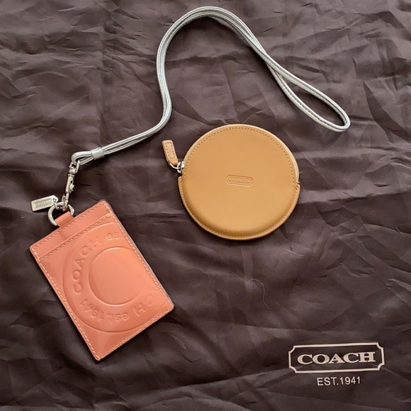 Coach ID Lanyard & Coin Purse